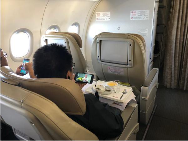 Kini Kamu Bisa Pakai WiFi Gratis saat Naik Batik Air