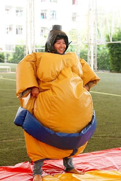 100 Bayi di Jepang Ikuti Sumo