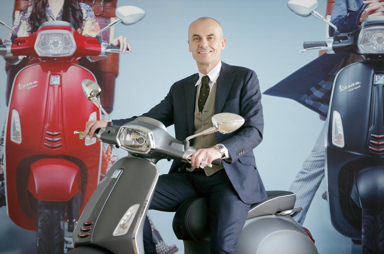 Gianluca Fiume, Bos Piaggio Asia Pasific yang Baru
