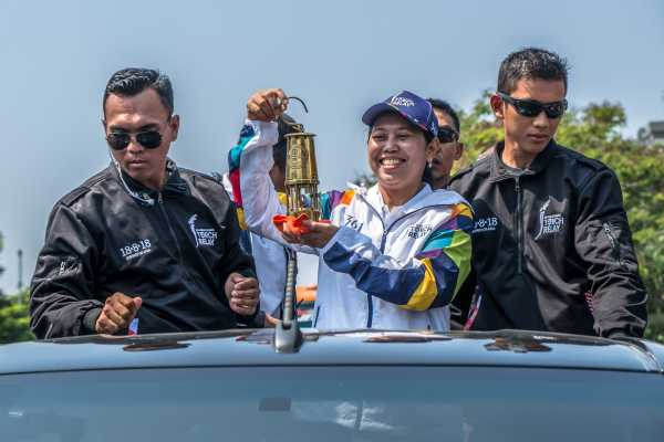 Menanti Pawai Obor Asian Games 2018 di Solo