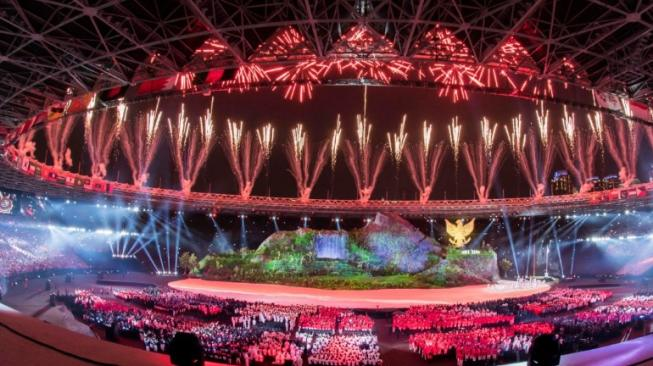 5 Momen Epik Pembukaan Asian Games 2018 yang Bikin Susah <i>Move On</i>