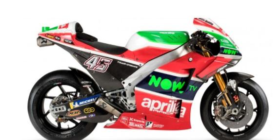 Pakai Motor Baru, Aprilia Targetkan Posisi 5 Besar pada MotoGP 2018