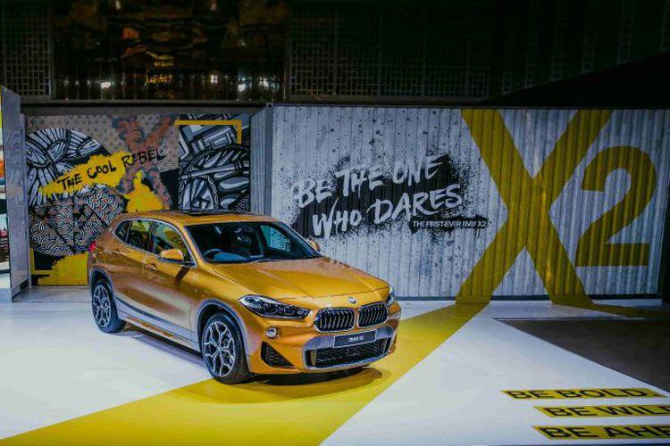 BMW X2 Resmi Meluncur di Indonesia, Seri X Nyeleneh