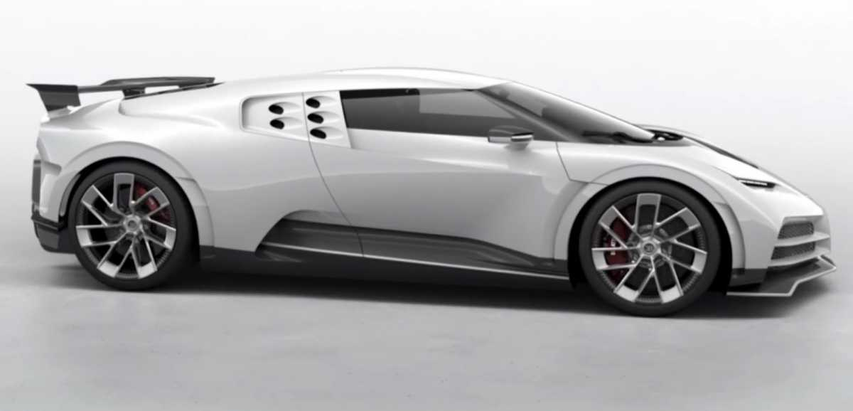 Harga Bugatti Centodieci Tiga Kali Lipat dari Chiron, Dibeli Ronaldo