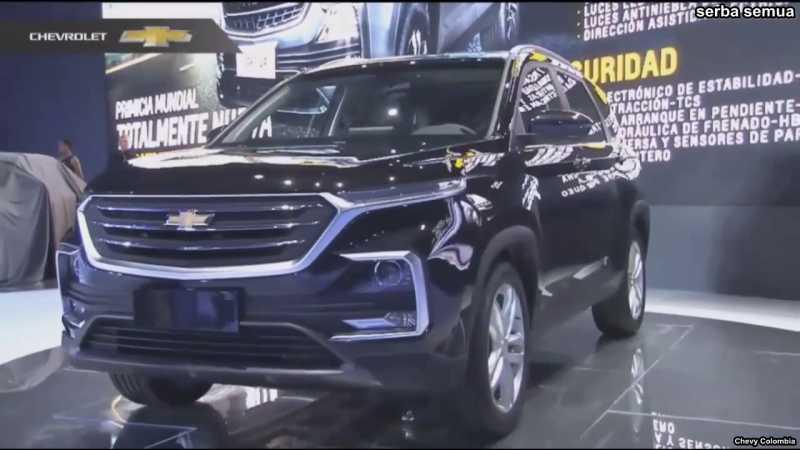 Amerika 'Menjiplak' China, SUV Wuling Disulap jadi Chevrolet All New Captiva