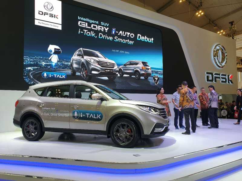 Glory Auto Sales >> Dfsk Glory I Auto Suv Yang Bisa Diajak Ngobrol Diluncurkan