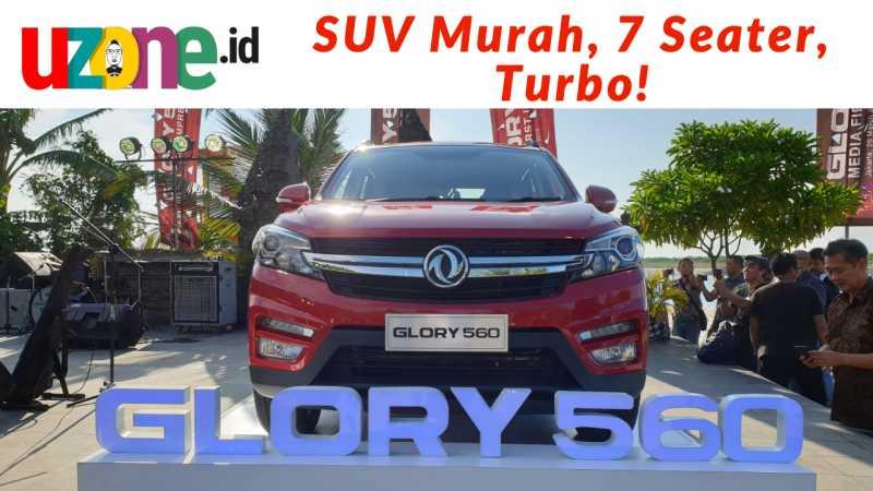 Tonton Video DFSK Glory 560, Low SUV Penantang Rush Terios