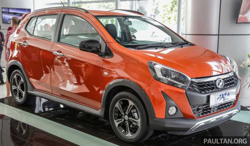 Wah, di Malaysia Daihatsu Ayla jadi Crossover Seharga Rp130 Jutaan