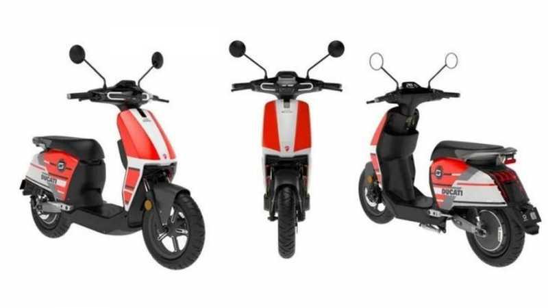 Ducati Bikin Skutik Kecil, Bergaya motoGP