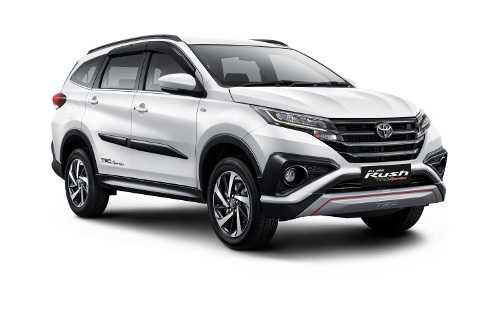 Toyota All New Rush Tipe TRD Paling Laku