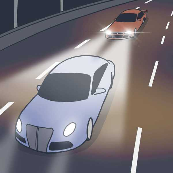 Komik: Tips Biar Pengendara Dibelakang Gak Bikin Silau Karena Sorotan Lampu Jauh