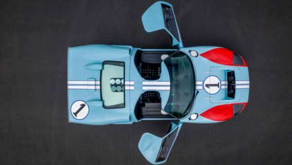 Kisah Kru Film 'Ford v Ferrari' Dapatkan Raungan Mesin Asli Ford GT40