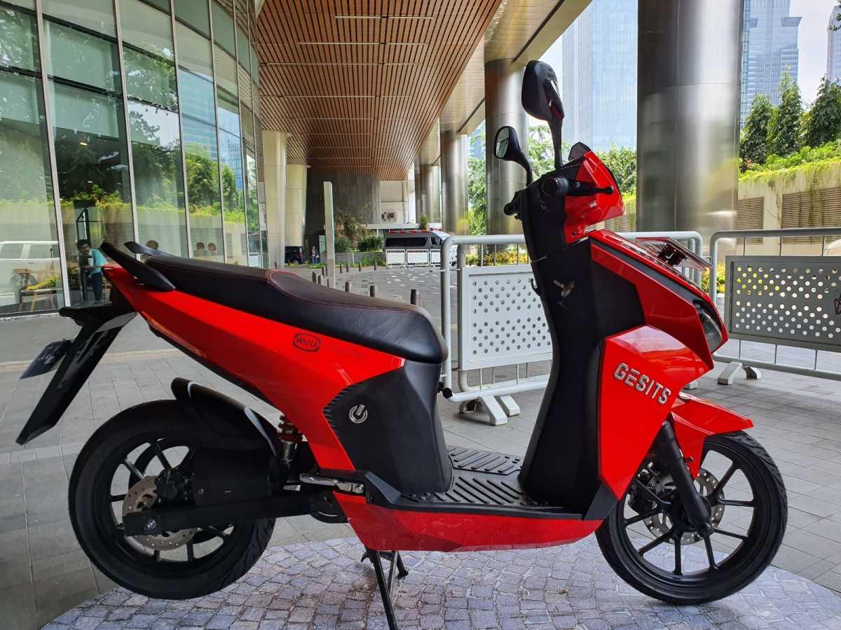 Motor Gesits Bertanda Tangan Jokowi Akhirnya Dibeli Putra Hary Tanoe