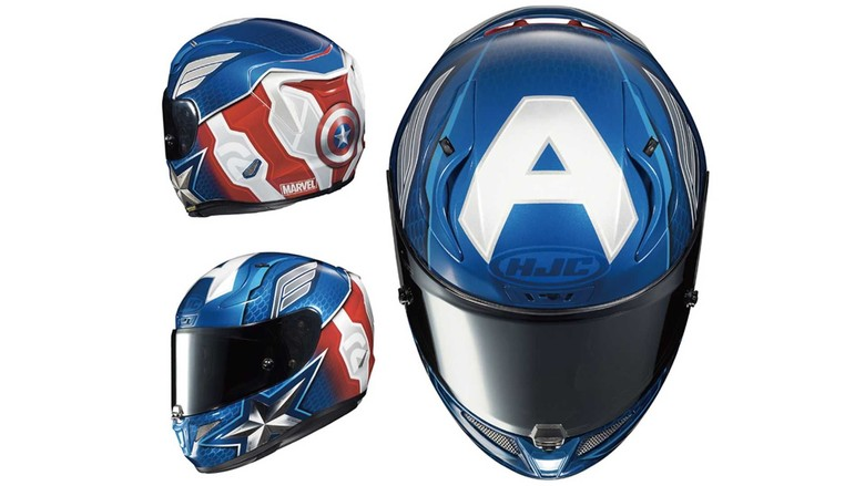 Nongton Avengers: Endgame Pakai Helm HJC Marvel Edition, Boljug Nih!