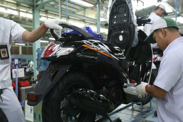 New Honda Scoopy Tampil Lebih Segar