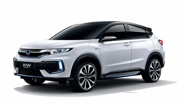 Honda XNV Kembaran HRV yang Bisa Disetrum dan Gak Butuh Bensin