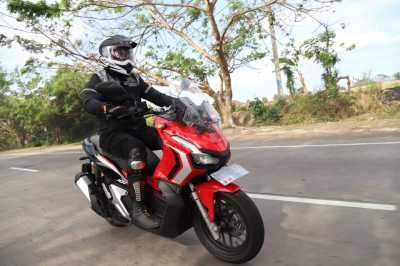 VIDEO: Jelajah Bali Naik Honda ADV 150, Sensasi Skutik Adventure