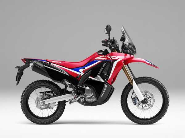Tampilan Baru Honda CRF250 Rally, Inovasi Standar Cuma Warna dan Striping