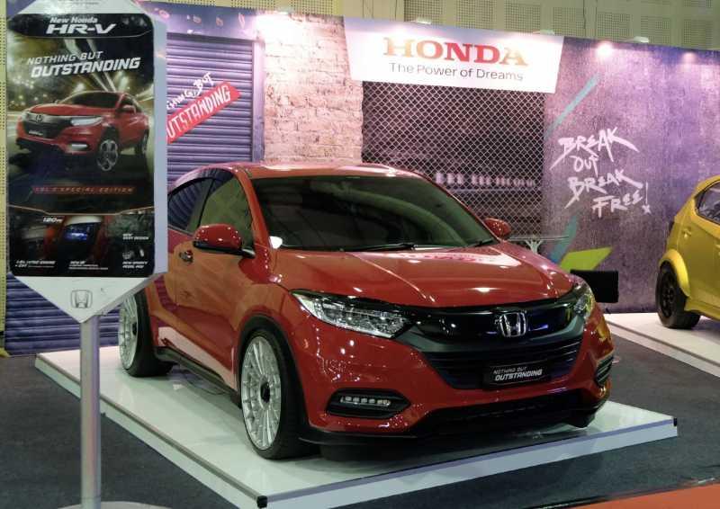 Melihat Honda HR-V Modif di IMX 2019, Bisa Jadi Referensi Nih