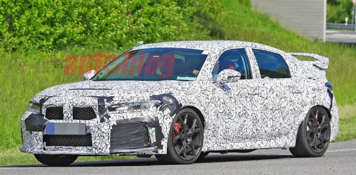 Bocoran Honda Civic Type R 2022, Bodi Lebih Panjang