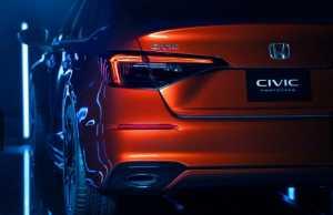 Honda belum membocorkan tipe mesin Civic generasi ke-11 (Foto: Honda)