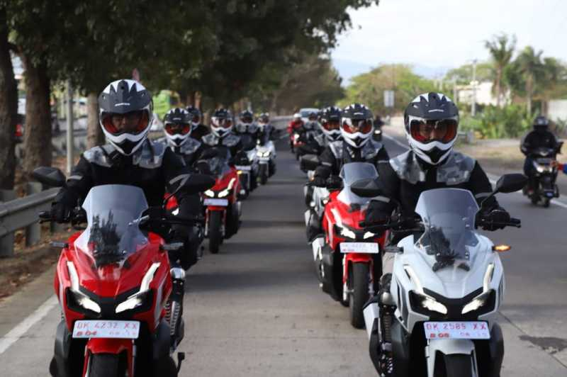 World Premiere Riding Experience Honda ADV 150 di Bali, Gimana Sensasinya?