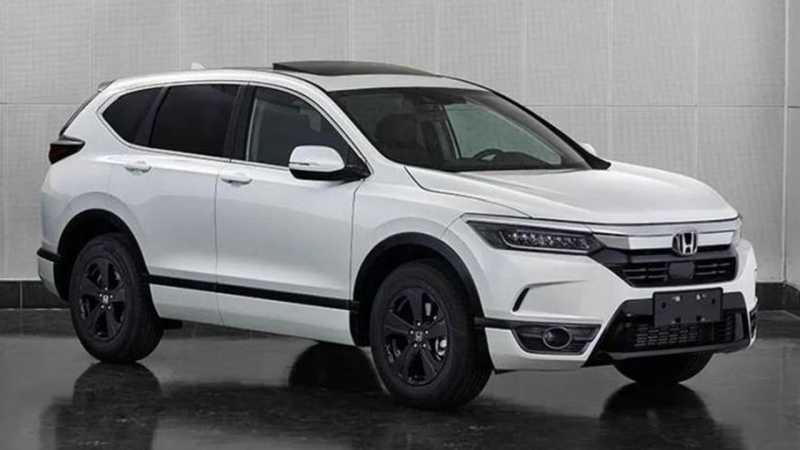 Inikah Sosok Honda CR-V Terbaru? Bukan, Ini Adalah..
