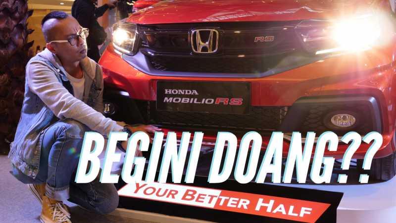 Honda Ngasih Kode Keras Kemunculan Mobilio Full Model Change