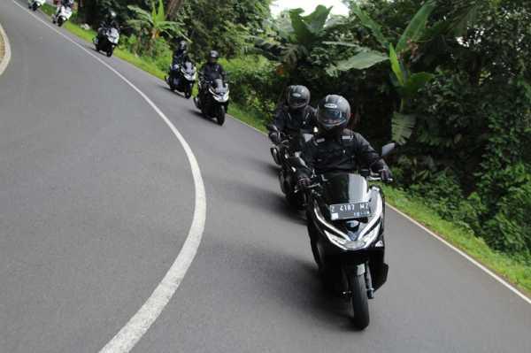 First Ride Honda PCX 150, Taklukkan Jalur Pantai Selatan Jawa Barat