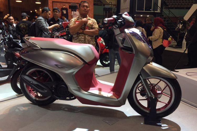 Motor Konsep Honda Project G Jadi Generasi Terbaru Scoopy, Setuju Gak?