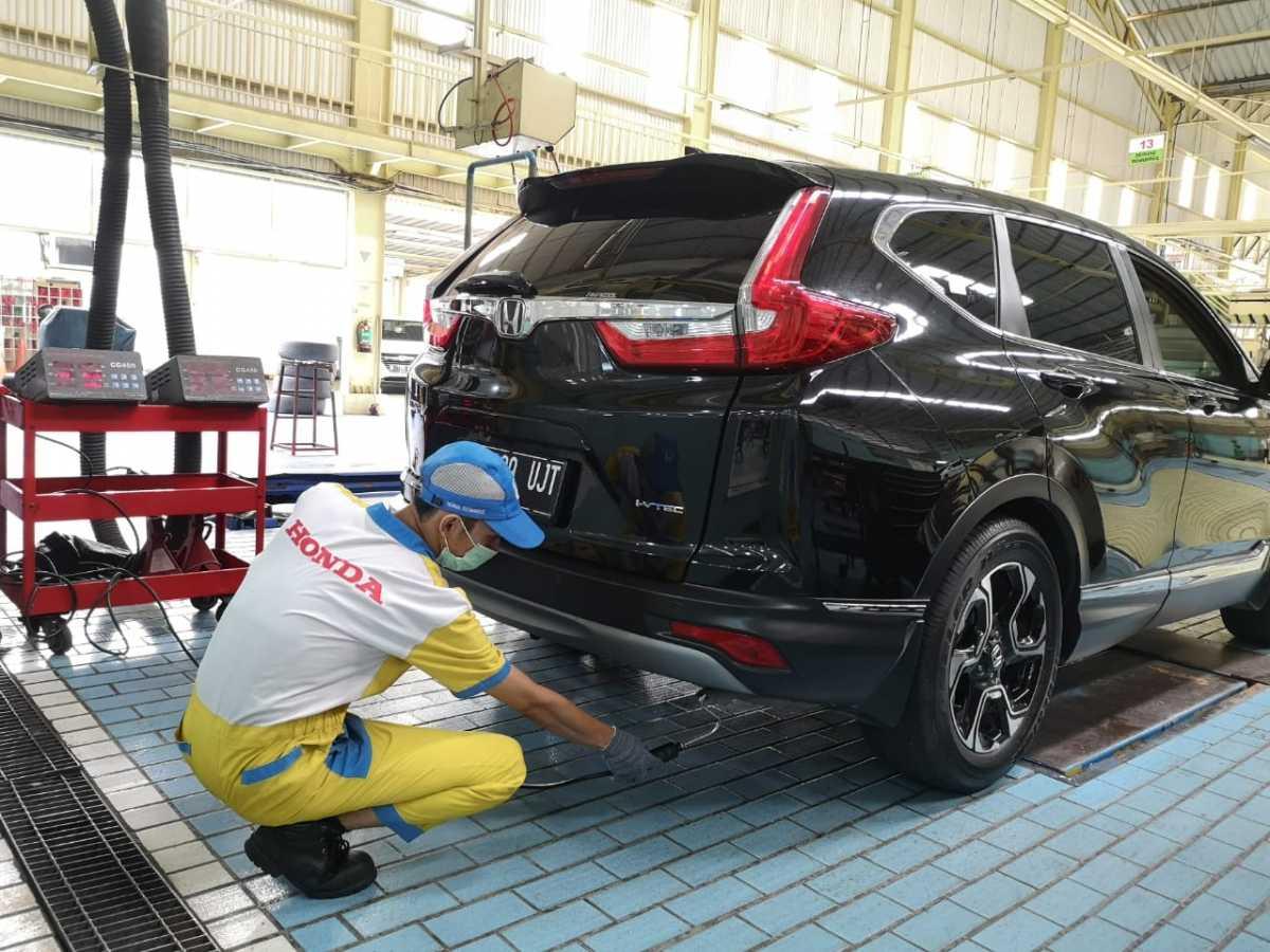 Puluhan Diler Resmi Honda di Jakarta Sediakan Uji Emisi Gratis