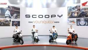 PIlihan warna dan tipe Honda Scoopy (Uzone.id)