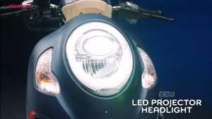 Desain lampu utamanya baru dan sudah mengusung LED projector (Uzone.id)