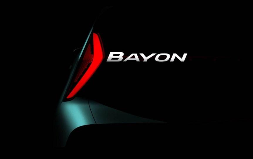 Hyundai Bayon Bakal Tantang Yaris Cross