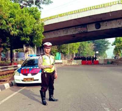 Besok Jokowi Dilantik, Ini Pengalihan Rute di Area Gedung DPR