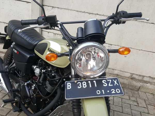 Terjual 800 Unit, Kawasaki W175TR Dikirim ke Konsumen Pekan Depan