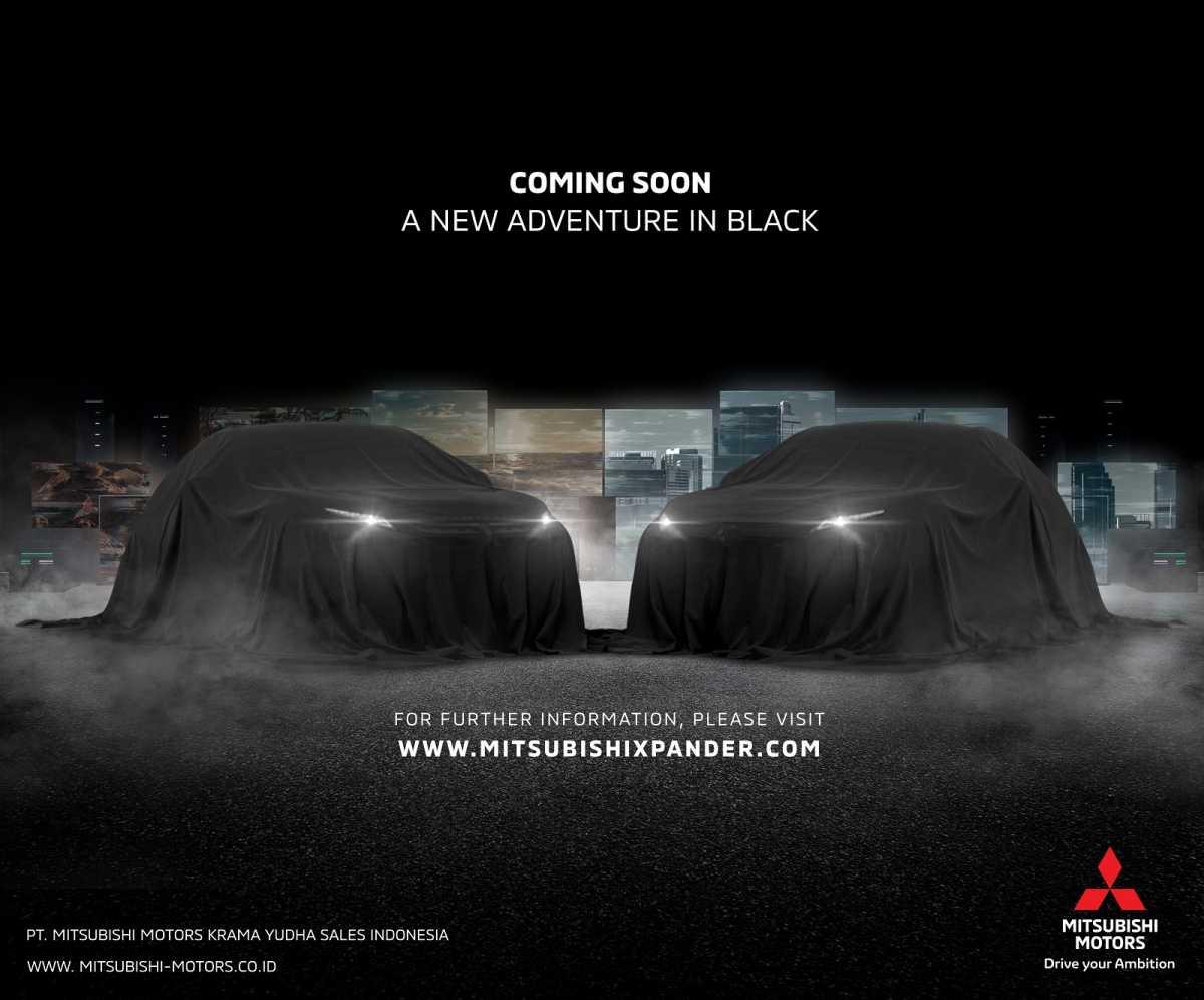 "Mitsubishi Ngajak ""Adventure in Black"", Ada Xpander Terbaru?"