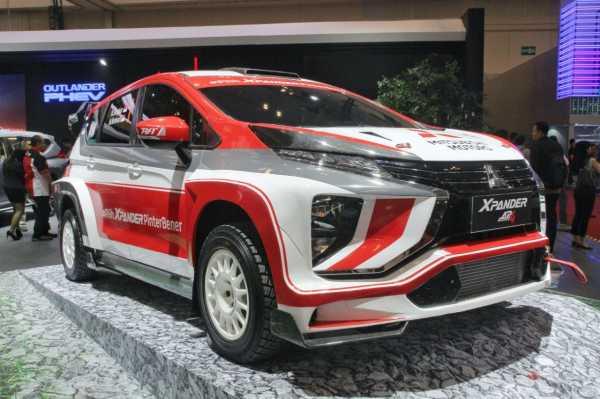 GIIAS 2019: Mitsubishi Xpander Resmi Ikutan Rally Profesional