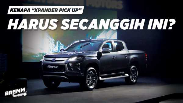 VIDEO Review Mitsubishi New Triton: Tampang Xpander, Mesin Pajero Sport