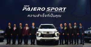 Pajero Sport Facelift Meluncur di Thailand, Mitsubishi Indonesia Merespon