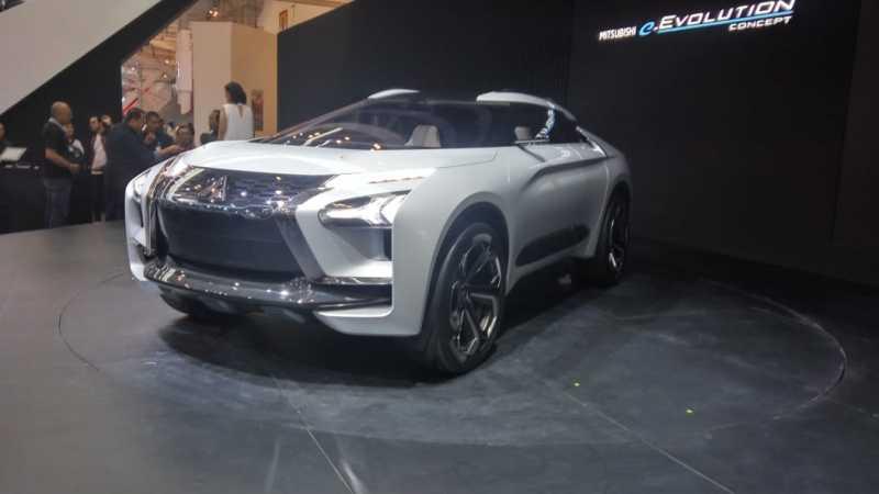 GIIAS 2018: Melihat SUV Pintar Mitsubishi e-Evolution Concept