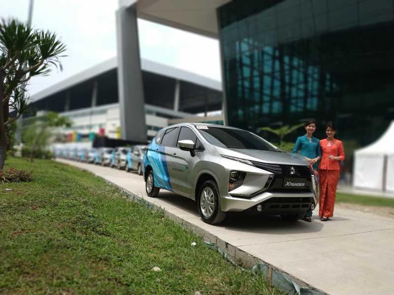 Xpander Gusur Mobilio Sebagai Mobil Operasional Garuda Indonesia