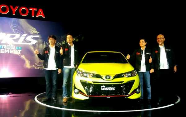 New Toyota Yaris Semakin Sporty dan Agresif
