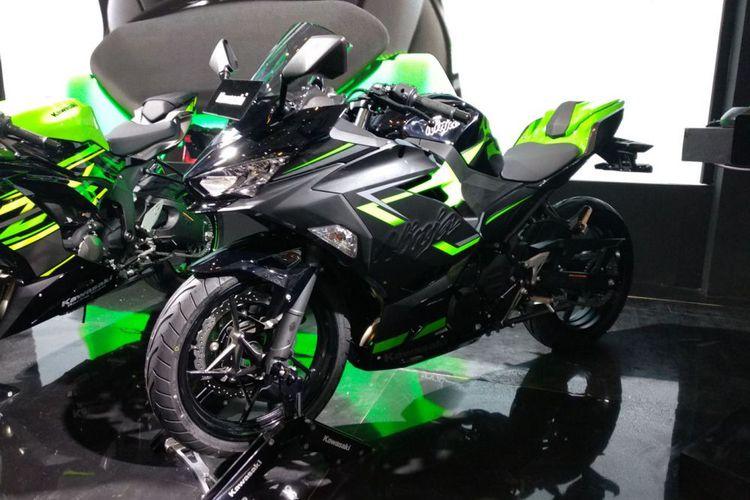 IMOS 2018: Kawasaki Luncurkan Ninja 250 Pakai Kunci Pintar