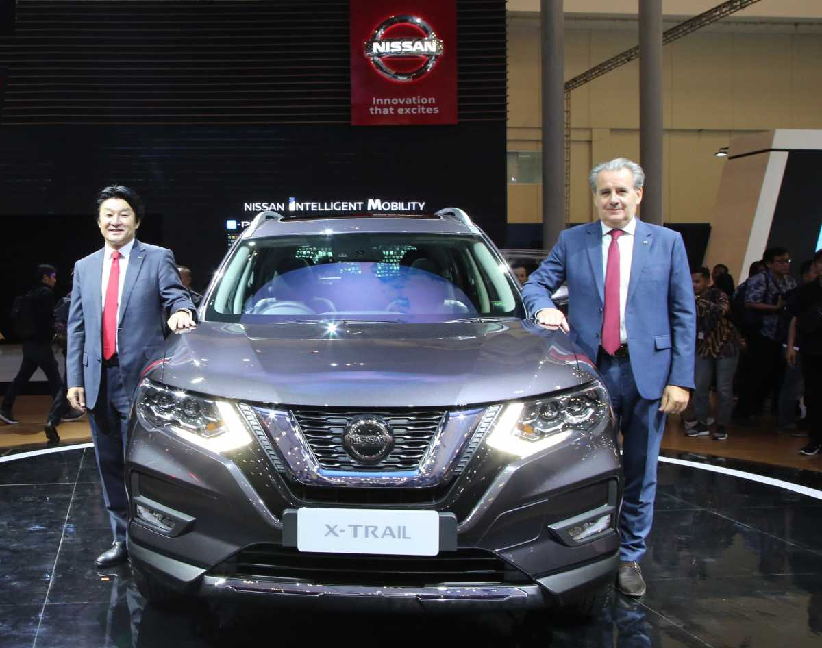 GIIAS 2019: Nissan Luncurkan X-Trail Facelift