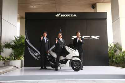 AHM Perkenalkan New Honda PCX 150 Produksi Indonesia
