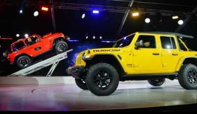 Jeep Wrangler akan Bertenaga Hybrid