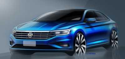 Ini Sedan VW Jetta 2019, Sporty dan Elegan