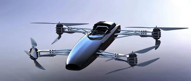Wow, Mobil Terbang Siap Balapan !