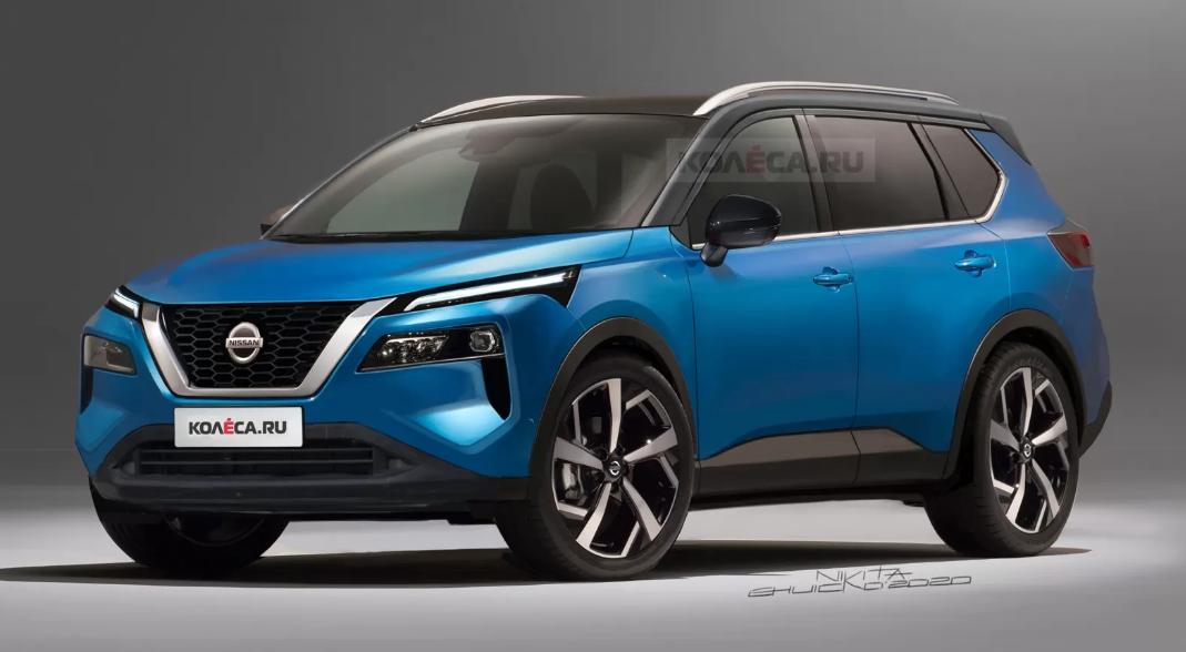 Seperti Ini Wajah Nissan X-Trail 2021?